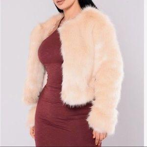 Fashion nova Faux fur winter jacket